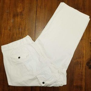 Polo Ralph Lauren White Cargo Pants - 38x28